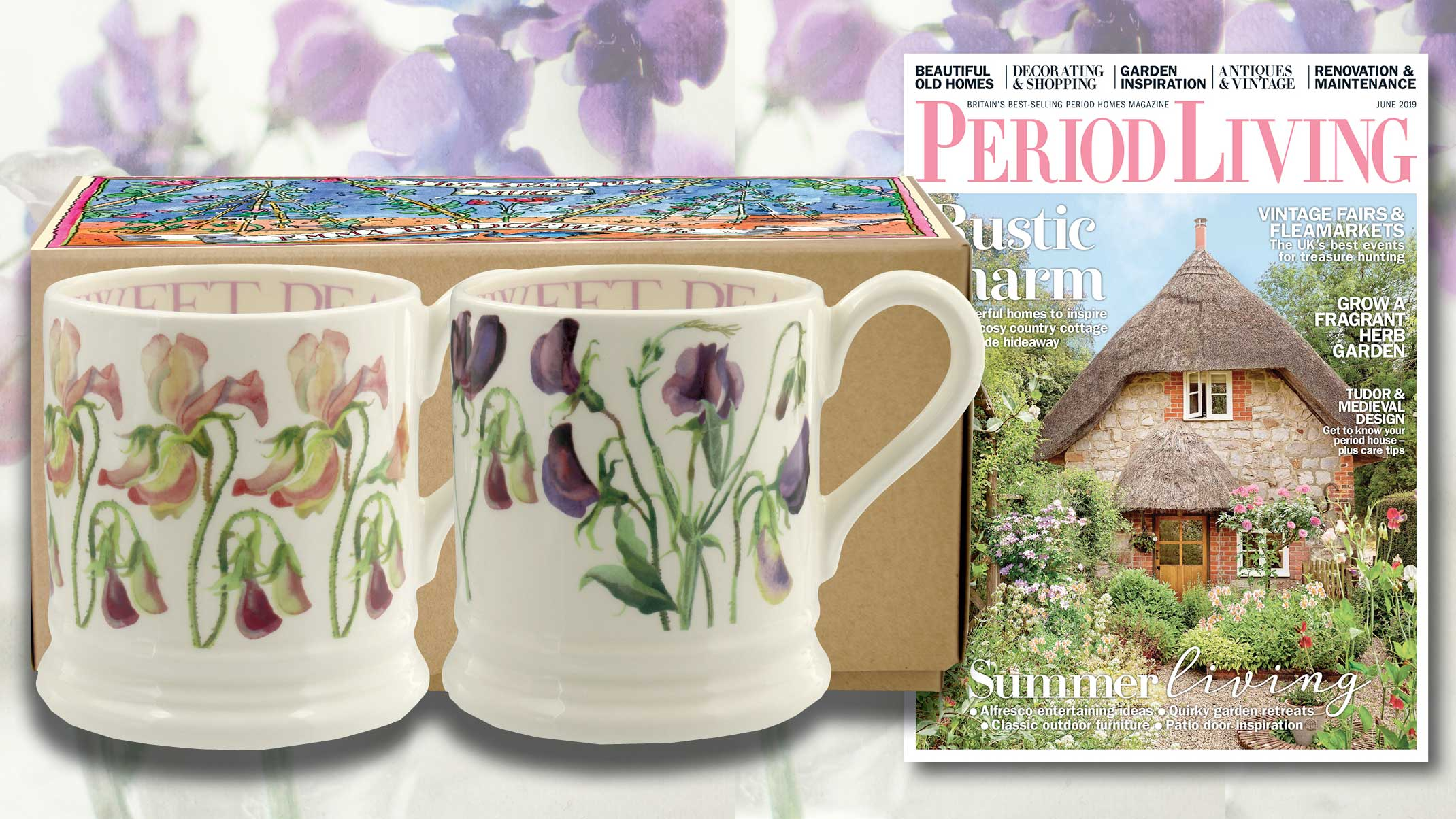 Get Two Free Emma Bridgewater Mugs With A Period Living Subscription