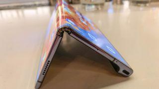 The Huawei Mate X folded