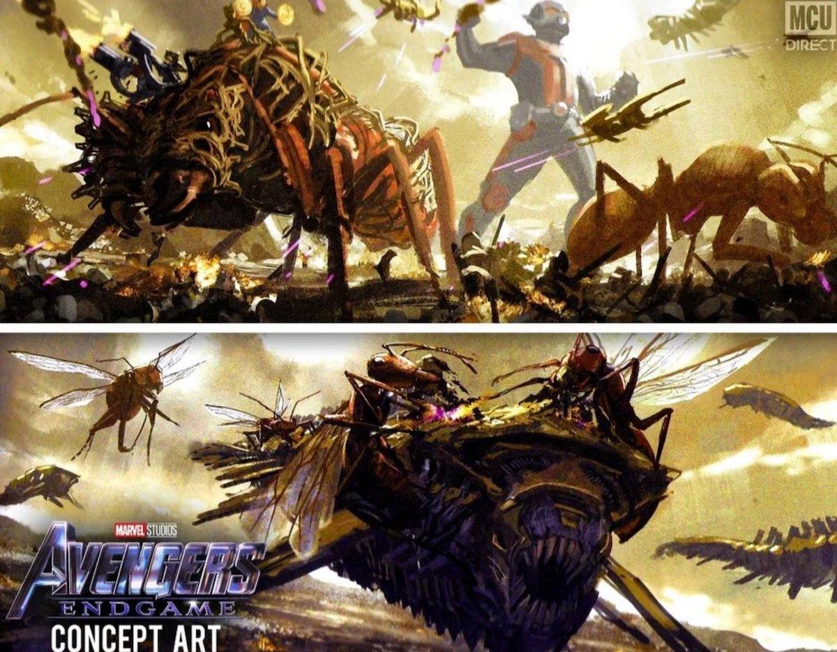 Ant-Man's concept art