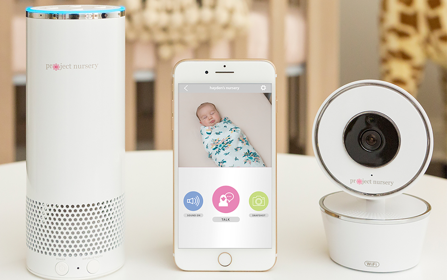 Project Nursery Smart Baby Monitor Review: Alexa to the
