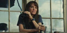 Watch Angelina Jolie Back In Action And Battling Fire And Assassins In Those Who Wish Me Dead Trailer