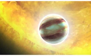 "Artist's Concept of the ""Hot Jupiter"""