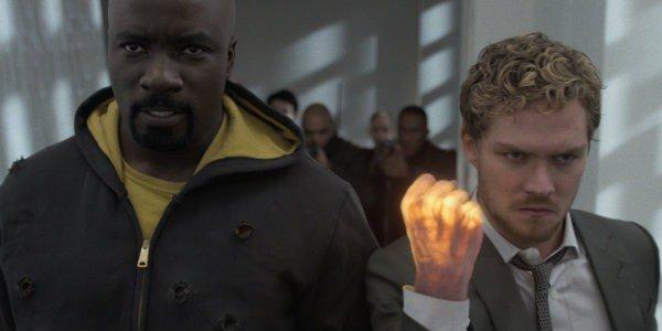 Luke Cage Danny Rand Mike Colter Finn Jones The Defenders Netflix