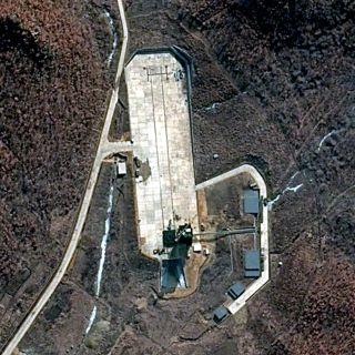Activity at North Korea's Tongchang-ri launch site.