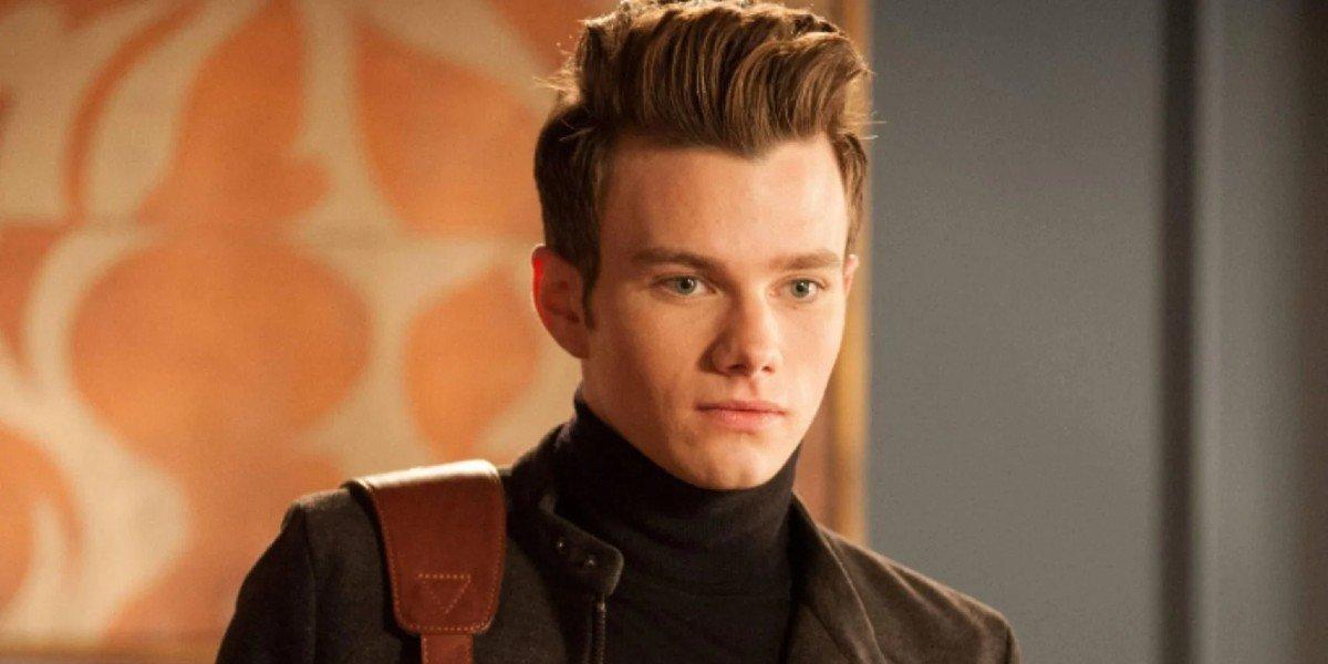Chris Colfer as Kurt in Glee
