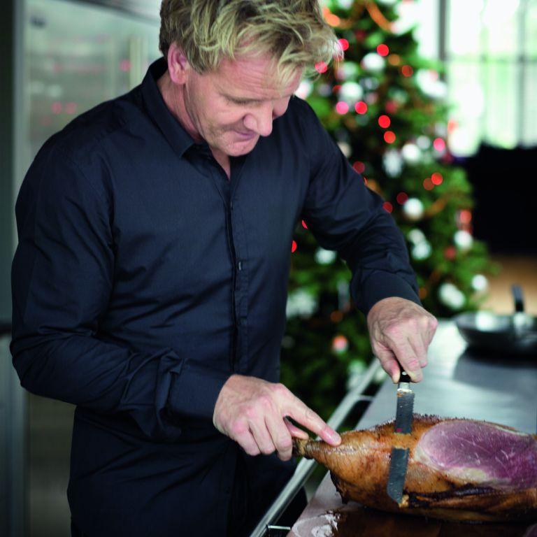 Roast Goose Gordon Ramsay Christmas photo