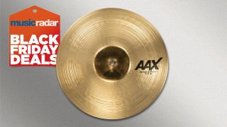 This Sabian AAX Concept crash cymbal is only $99 with this insane Sweetwater deal