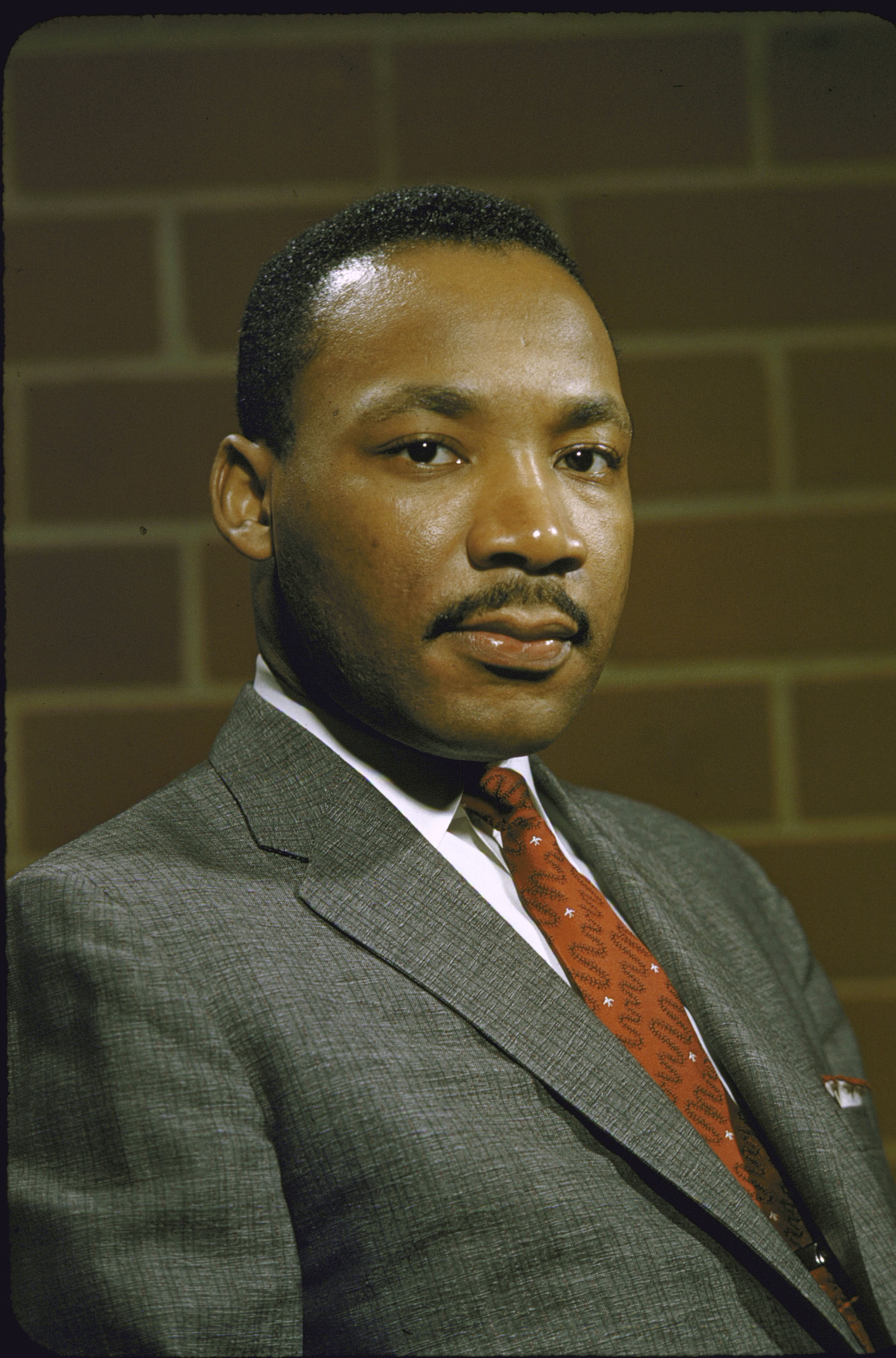 Portrait of Rev. Martin Luther King Jr. in 1957.