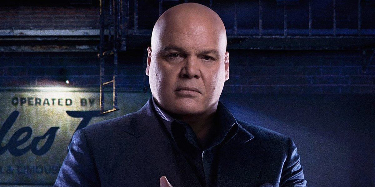 Vincent D'Onofrio as Kingpin in Daredevil TV series