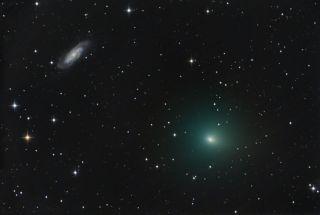 Comet 41P & NGC 3198