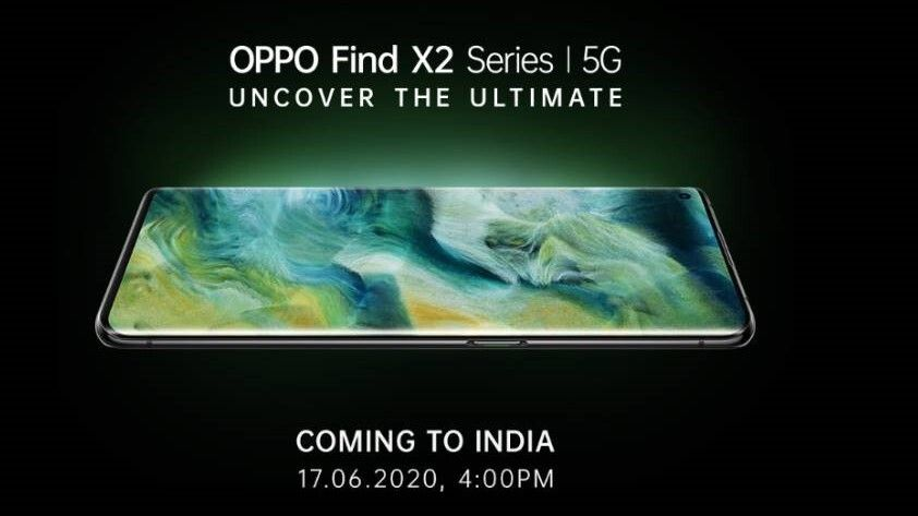 Oppo Find X2 series to launch in India on June 17
