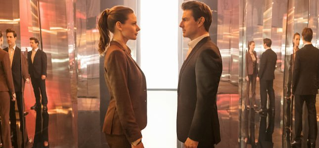 Mission Impossible Fallout Rebecca Ferguson Tom Cruise