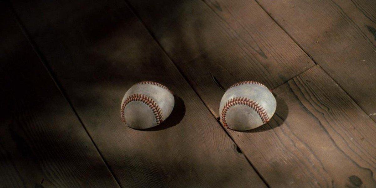Screenshot from Kill Bill Baseball Scene