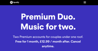 Spotify launches Duo – a new subscription plan for couples