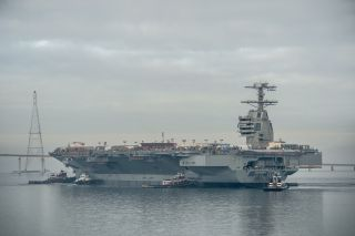 USS Gerald R. Ford Aircraft Carrier