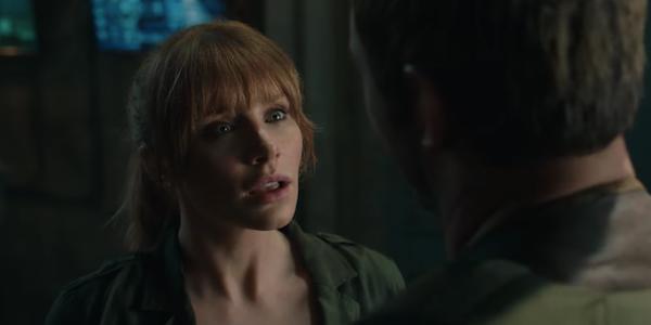 Bryce Dallas Howard as Claire in Jurassic World: Fallen Kingdom
