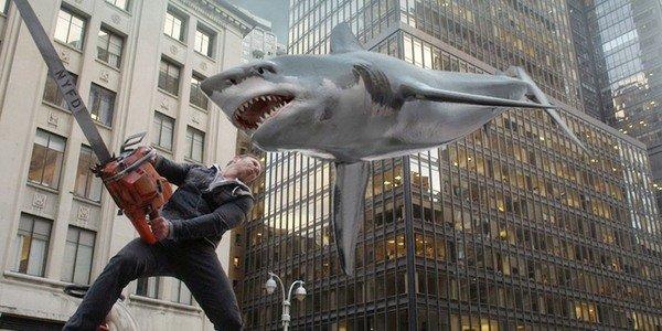 Fin Ian Ziering Sharknado Syfy