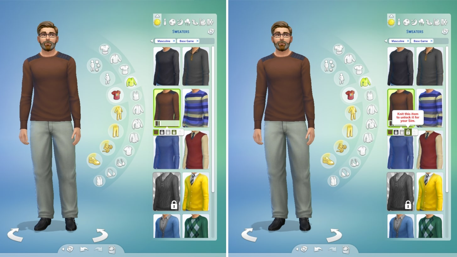 The Sims 4 Knitting Stuff Pack To Include Rocking Chairs Reminiscing And An In Game Etsy Gamesradar