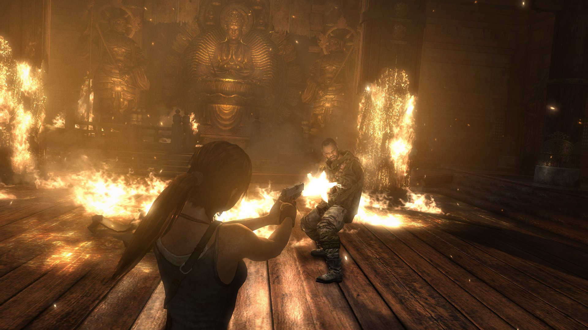 Tomb Raider Screenshots Explore Temple, Fight Samurai #25774