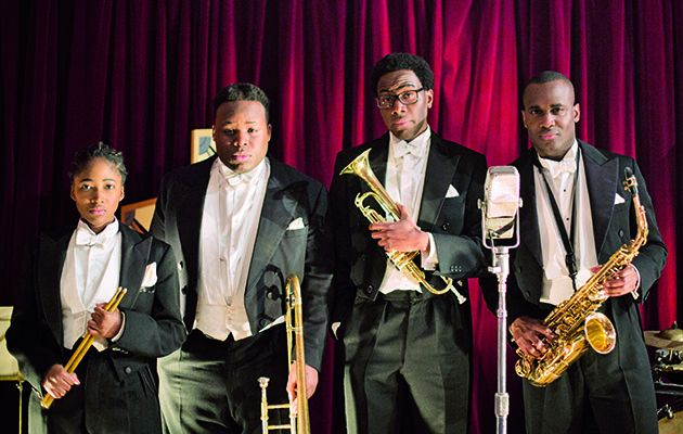 From the makers of The Job Lot and Rev comes this quirky comedy about a struggling four-piece South London jazz band who travel back in time to the 1920s…