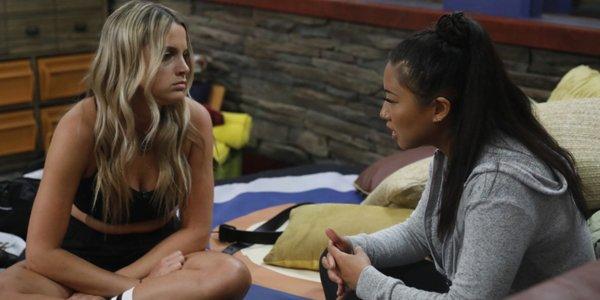 Big Brother 21 Christie talks to Bella CBS