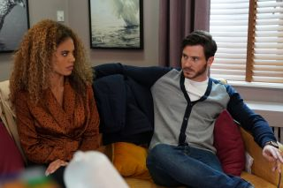EastEnders Chantelle Atkins is scared of Grey
