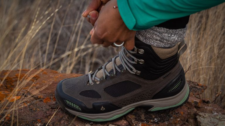 best women's hiking boots: Vasque Breeze AT Mid GTX