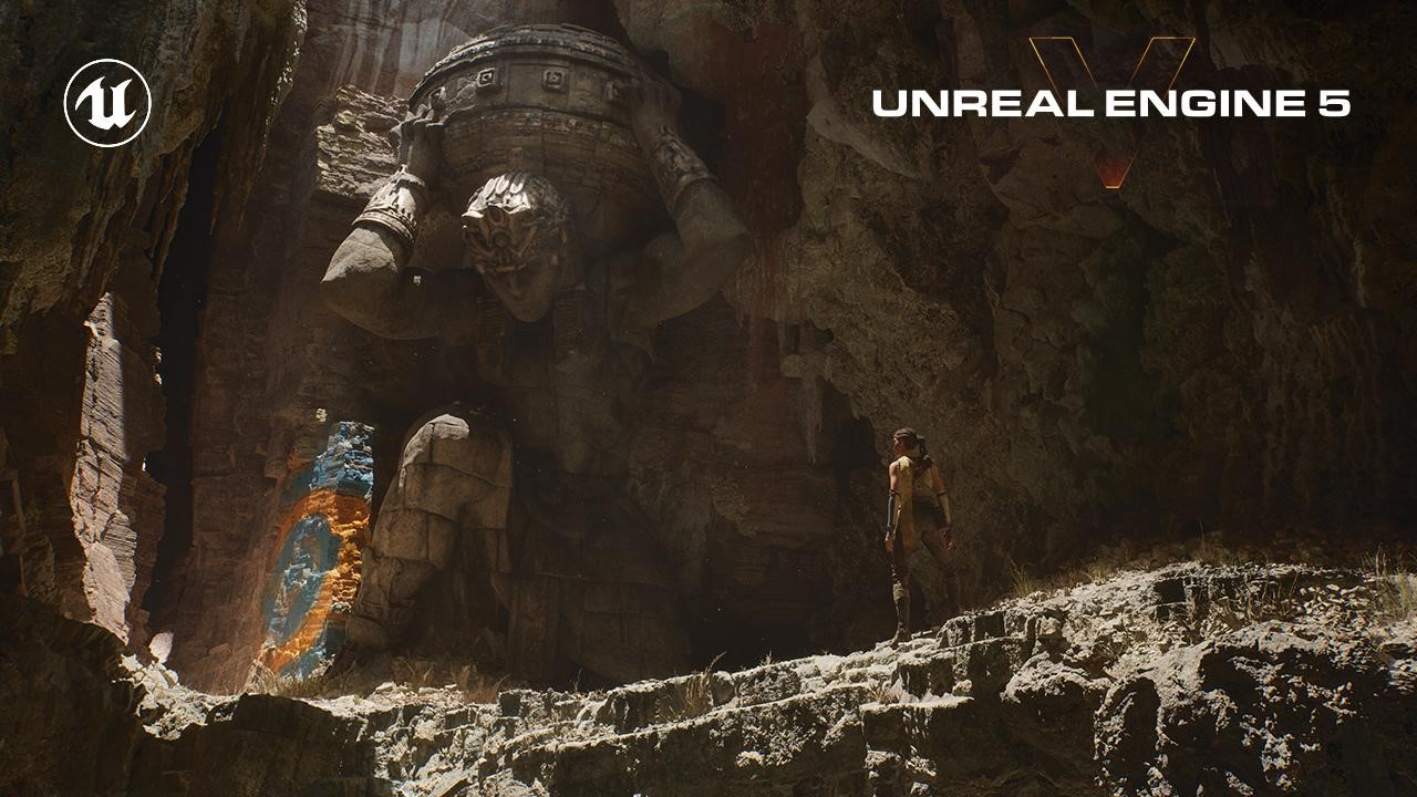 An early look at Unreal Engine 5 - it's epic