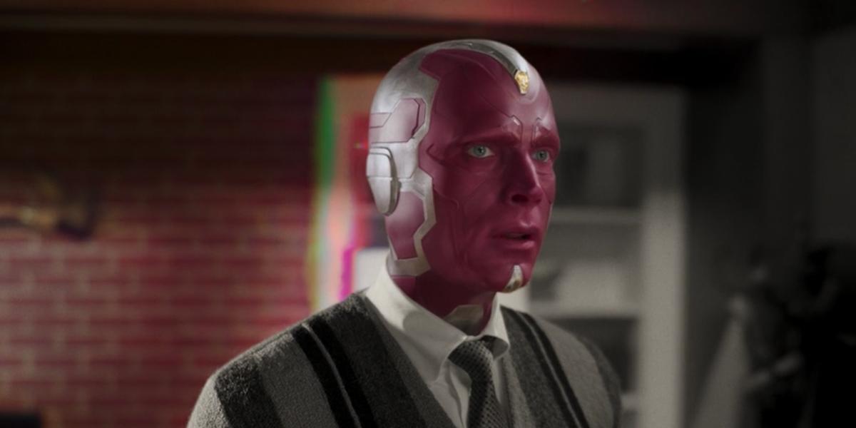 Vision in WandaVision's trailer