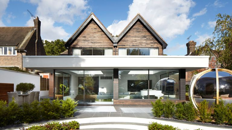 How to add a two storey extension under permitted for House plans you can add onto later