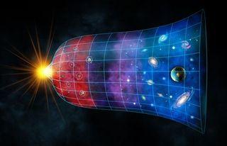 big bang, expansion of the universe.