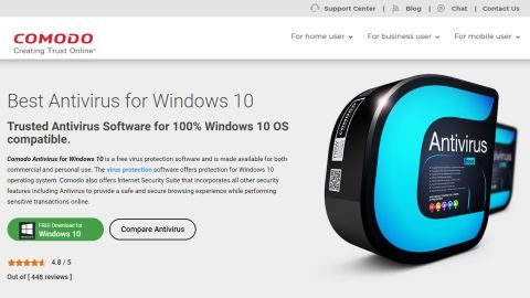 Comodo Antivirus for Windows 10