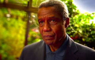 Hugh Quarshie plays Ric Griffin in Holby City