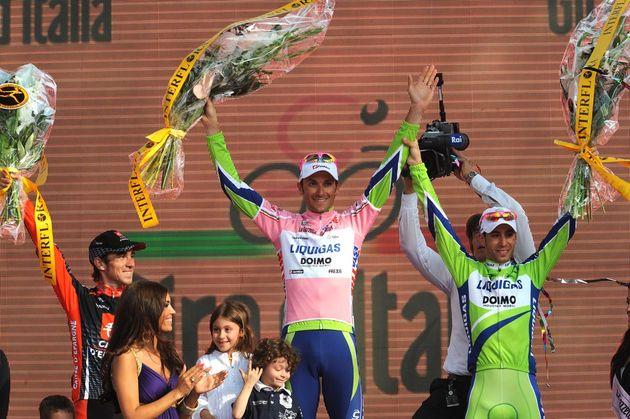 Ivan Basso wins overall, Giro d'Italia 2010, stage 21