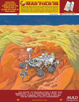 Curiosity Rover in MAD Magazine