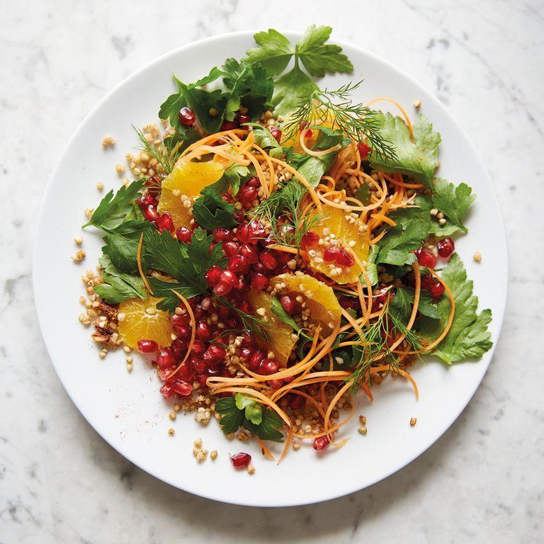 Deliciously Ella's Pomegranate Salad