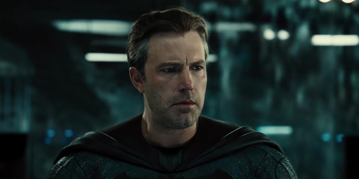 Ben Affleck in the Snyder Cut