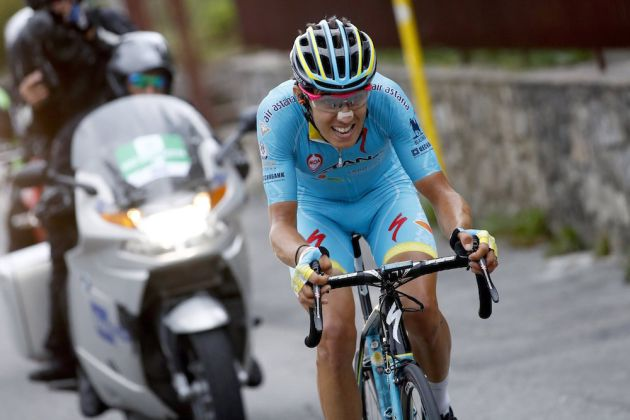Diego Rosa in the 2016 Il Lombardia