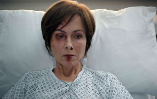 Connie needs time to recover from the brutal attack by an unknown assailant in Casualty this Saturday