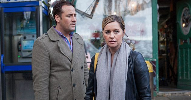 Tony Hutchinson and Diane O'Connor's marriage is on the rocks in Hollyoaks.