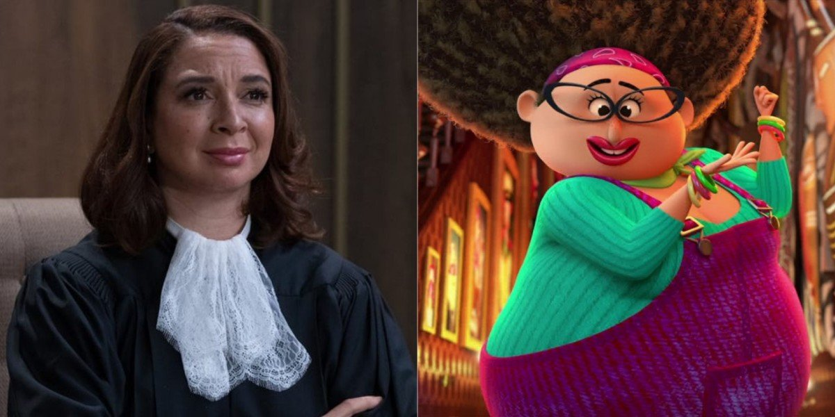 Maya Rudolph - The Good Place/ Nanny from Netflix's The Willoughbys