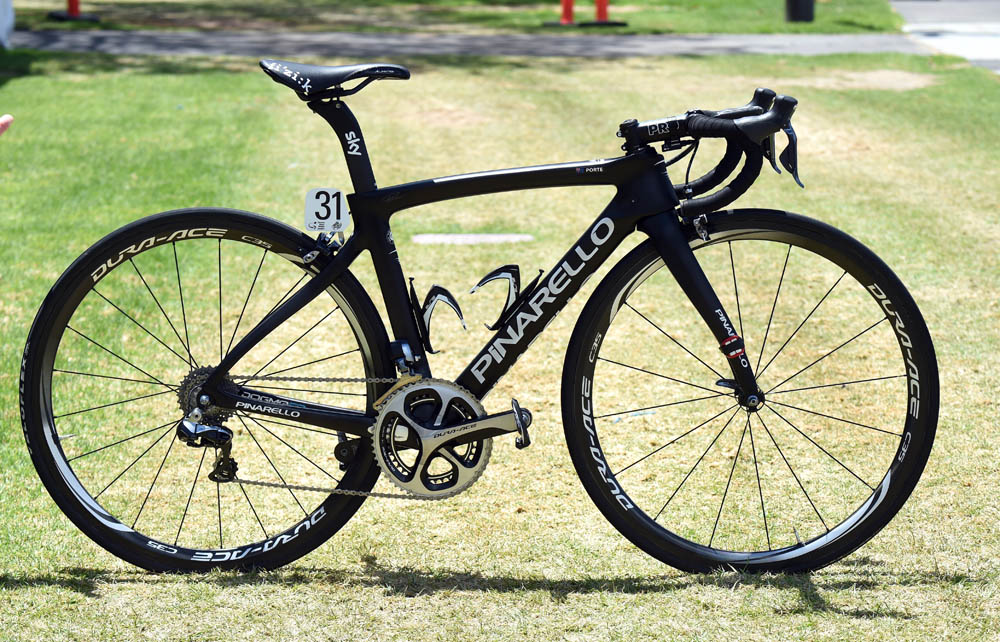 richie porte 39 s pinarello dogma f8 sky team bike cycling
