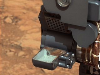 First Curiosity Drill Sample Scoop