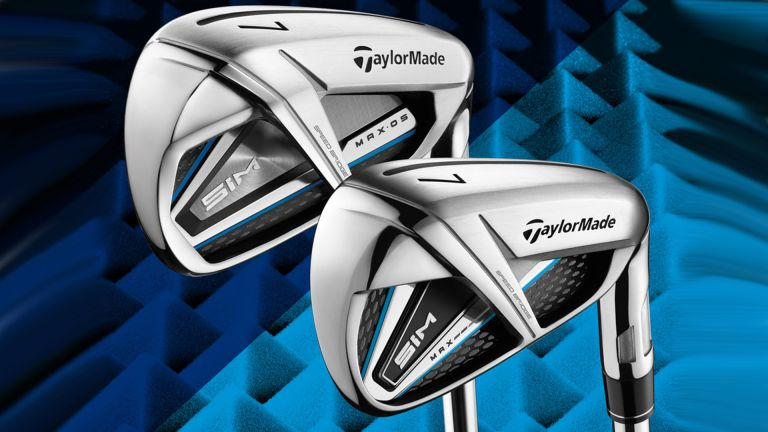 TaylorMade SIM MAX OS steel irons