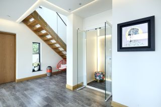 home lifts in a self-build home