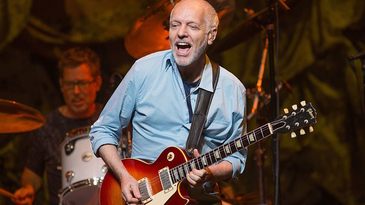 """Peter Frampton: """"I might not be playing live in a couple of years, but I'm going to be battling on and recording... I feel positive about the future"""""""