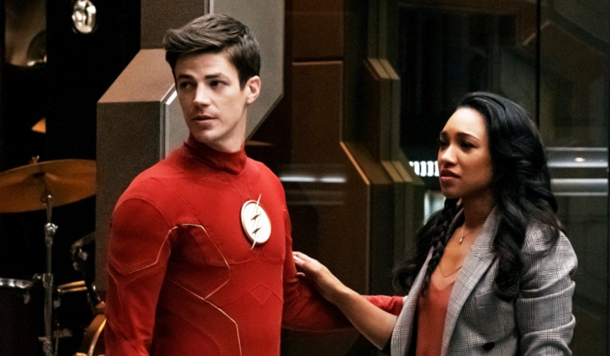 the flash crisis on infinite earths barry allen iris west the cw
