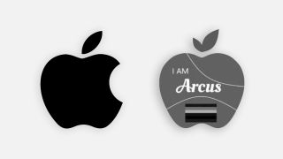 Apple logo vs Georgette, LLC logo