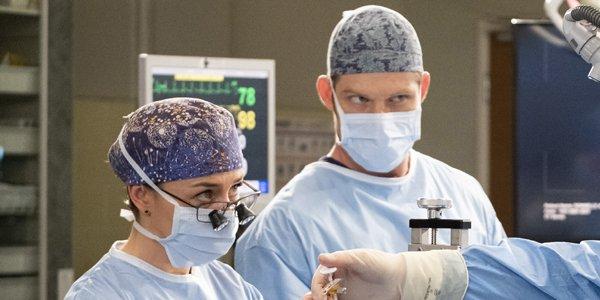 Grey's Anatomy Season 15 Caterina Scorsone Amelia Chris Carmack Link ABC