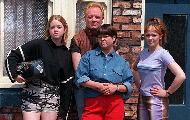 Coronation Street The Battersby family in 1997
